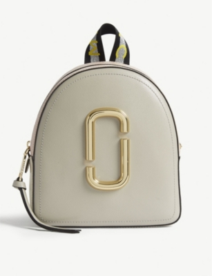 MARC JACOBS Pack Shot mini leather backpack