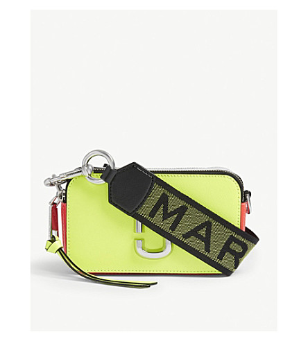 MARC JACOBS Snapshot cross-body bag (Bright+yellow 723c23e4ea100