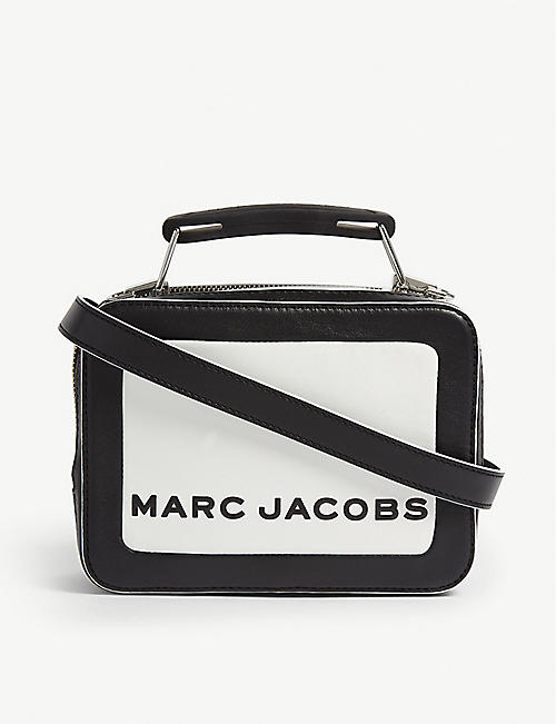 MARC JACOBS: The box leather bag