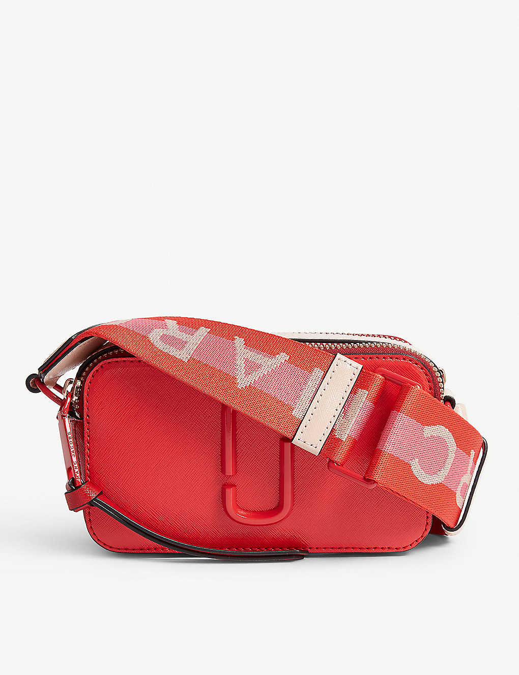 8eb71026015 MARC JACOBS - Snapshot saffiano leather camera bag | Selfridges.com