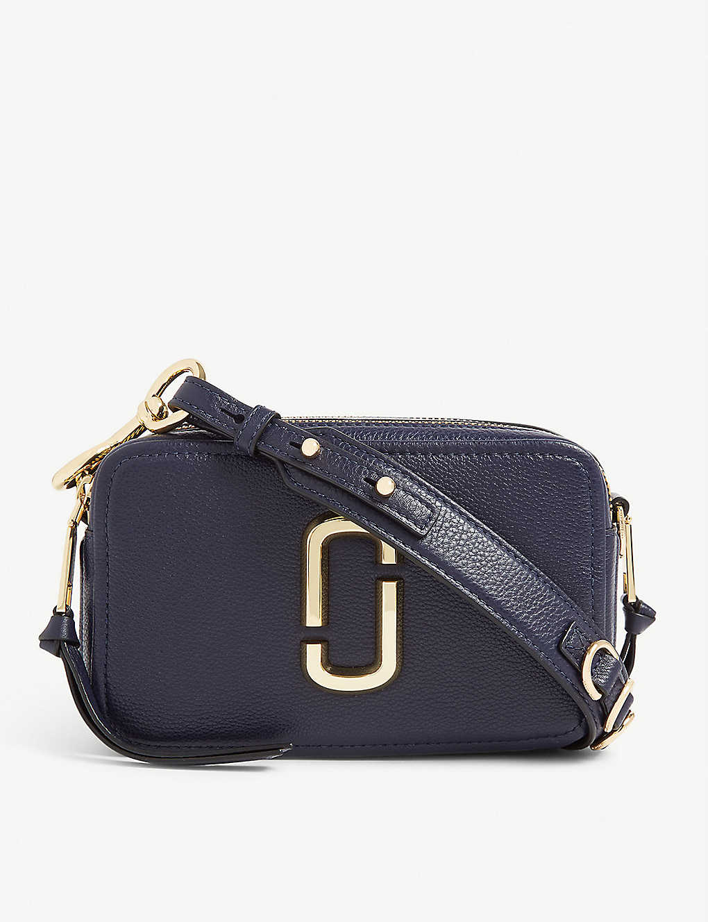 MARC JACOBS: Softshot 21 grained leather cross-body bag