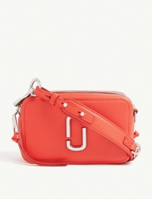 Softshot 21 Grained Leather Cross Body Bag by Marc Jacobs