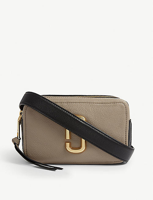 MARC JACOBS: Softshot 21 leather cross-body bag