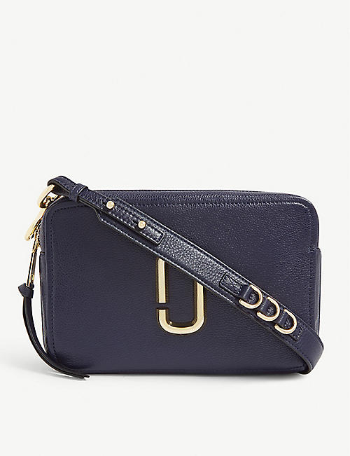 b58c657c8 MARC JACOBS Softshot 27 grained leather cross-body bag