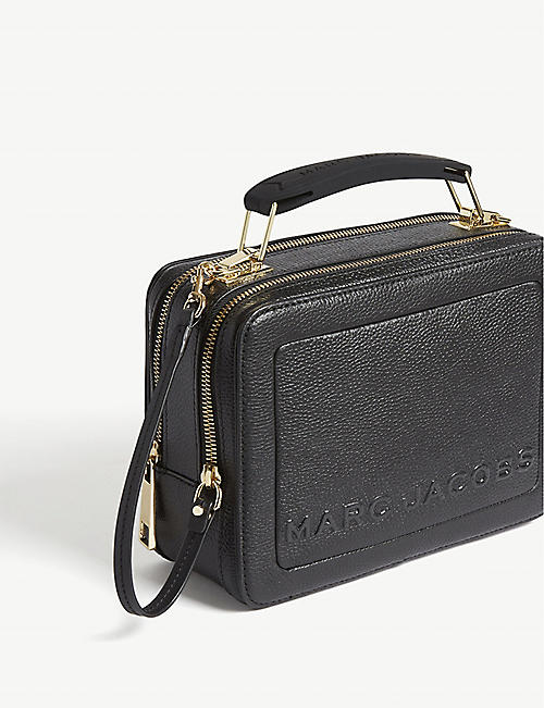 MARC JACOBS The Box Bag leather cross-body bag