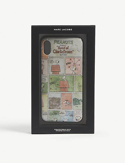 MARC JACOBS Peanuts Charlie Brown iPhone X case