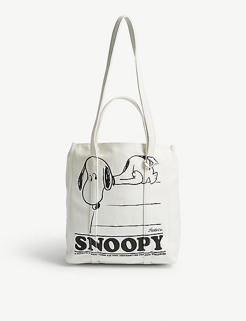 ab1e7737d1f MARC JACOBS Peanuts Snoopy coated canvas tote