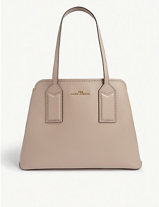 MARC JACOBS: The Editor leather shoulder bag