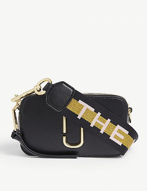 MARC JACOBS Snapshot leather cross-body bag