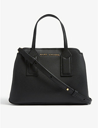 MARC JACOBS: Editor leather tote bag