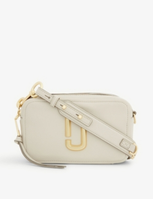 Softshot 21 Leather Cross Body Bag by Marc Jacobs