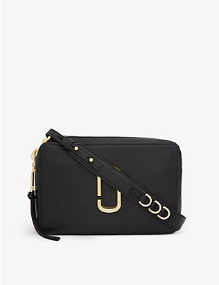 MARC JACOBS: Softshot 27 leather cross-body bag