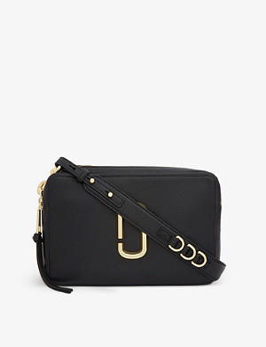 MARC JACOBS Softshot 27 leather cross-body bag