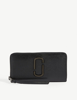 MARC JACOBS Standard Continental grained leather wallet