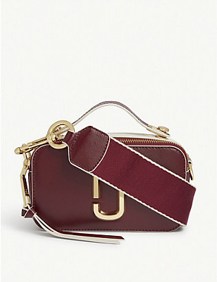 MARC JACOBS: Sure Shot leather camera bag