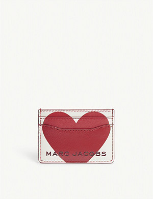MARC JACOBS Valentines Heart card holder