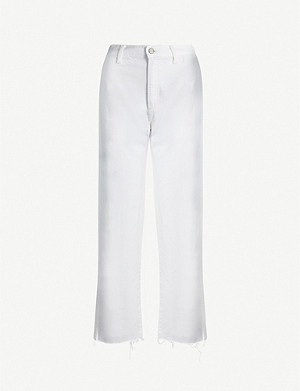 BOYISH The Kirby wide-leg high-rise jeans