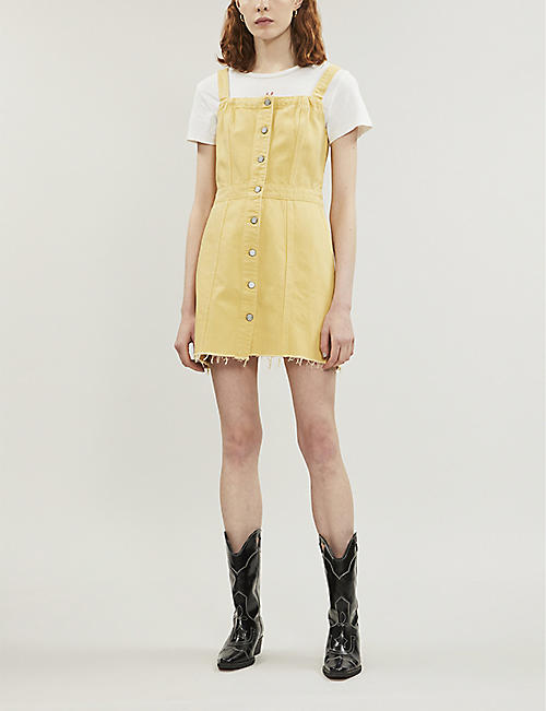 BOYISH The Kennedy button-up denim dress