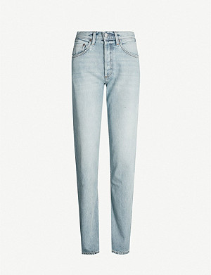 BOYISH The Tommy straight-leg high-rise jeans