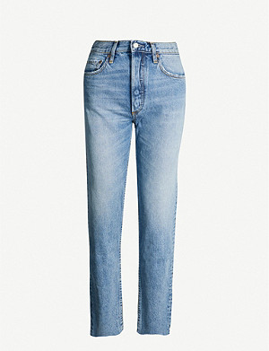 BOYISH The Tommy straight-leg mid-rise jeans