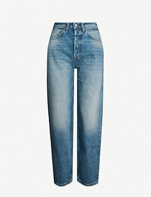 BOYISH Toby skinny tapered high-waisted jeans