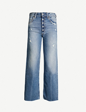 BOYISH The Mikey wide-leg high-rise jeans