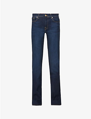 7 FOR ALL MANKIND:Bair Bootcut 中号牛仔裤