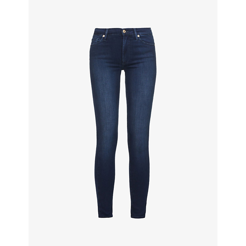 7 FOR ALL MANKIND | 7 For All Mankind Slim Illusion Slim High-Rise Jeans 31, Slim Illusion Luxe | Goxip