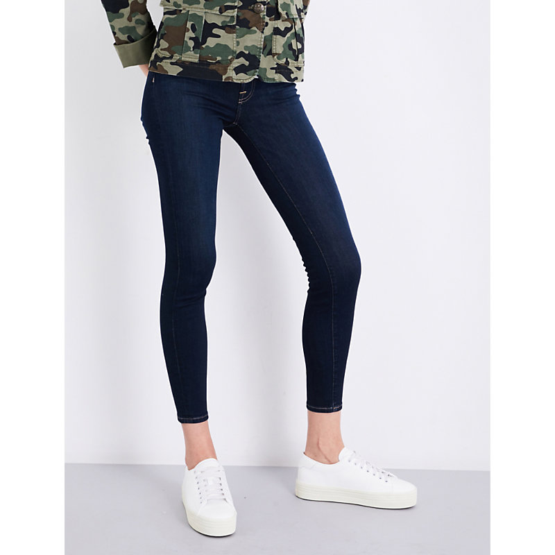 7 FOR ALL MANKIND | 7 For All Mankind Ladies Blue Ultra Light B(Air) Super-Skinny High-Rise Jeans 24 | Goxip