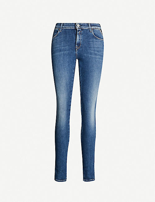 REPLAY Stella skinny high-rise jeans