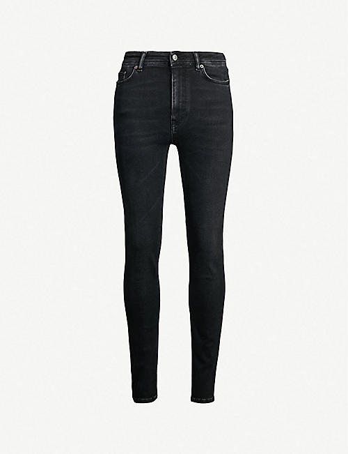 ACNE STUDIOS Peg skinny high-rise jeans