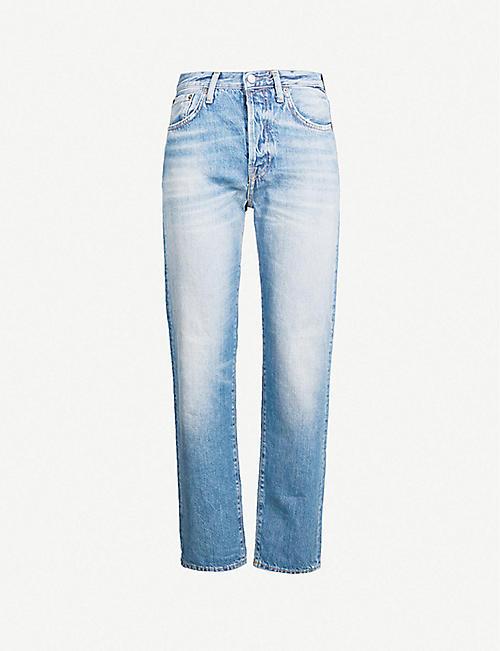 d0e4e7fc78 ACNE STUDIOS 1997 straight mid-rise jeans