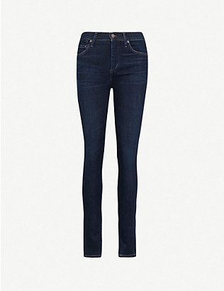 CITIZENS OF HUMANITY: Rocket skinny high-rise jeans