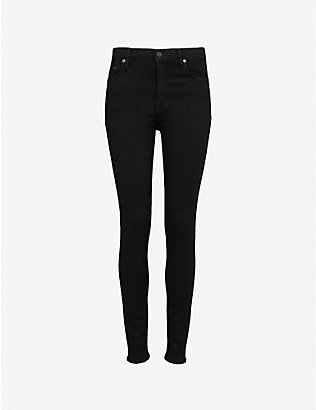 CITIZENS OF HUMANITY: Rocket high-rise skinny jeans