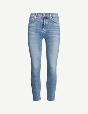 CITIZENS OF HUMANITY Rocket high-rise skinny cropped jeans