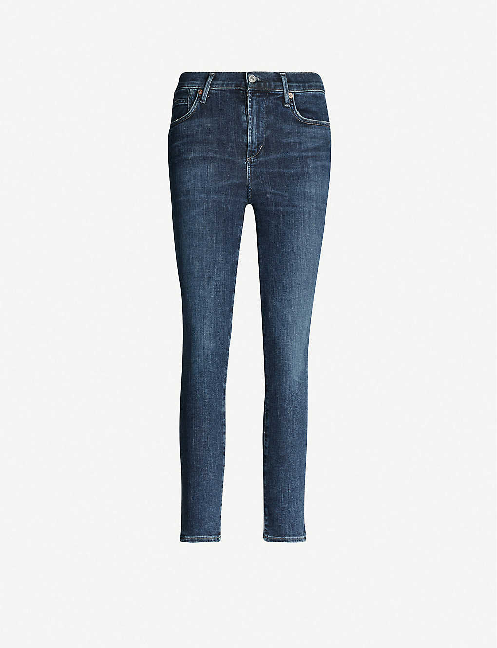 CITIZENS OF HUMANITY: Rocket stretch-denim high-rise skinny jeans