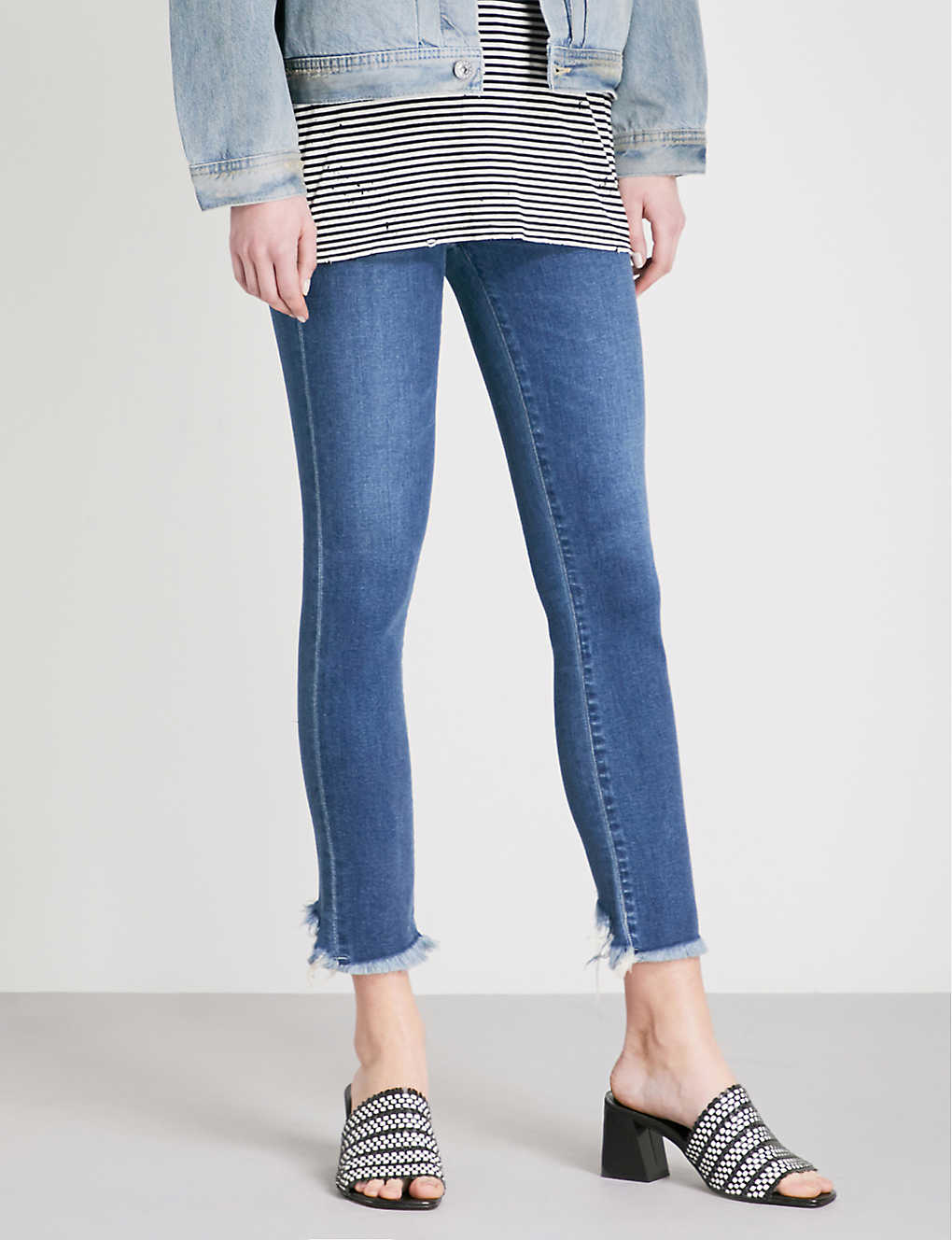 CITIZENS OF HUMANITY: Rocket slim-fit high-rise jeans