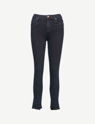 CITIZENS OF HUMANITY Rocket slim-fit high-rise cropped jeans