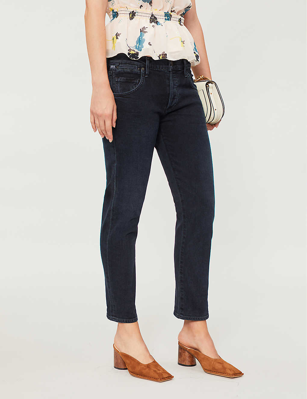 CITIZENS OF HUMANITY: Emerson straight mid-rise jeans