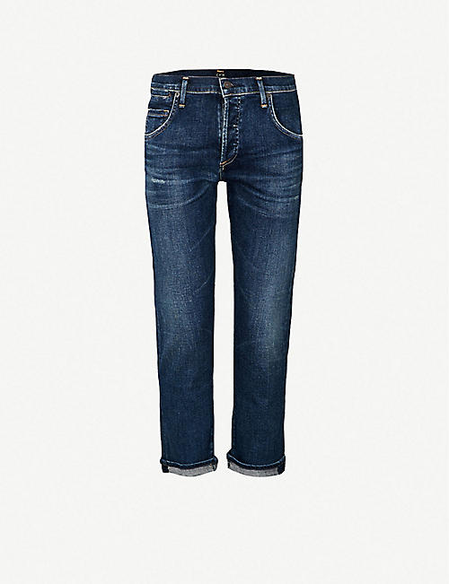 5cae5049d CITIZENS OF HUMANITY Emerson slim-fit boyfriend mid-rise jeans
