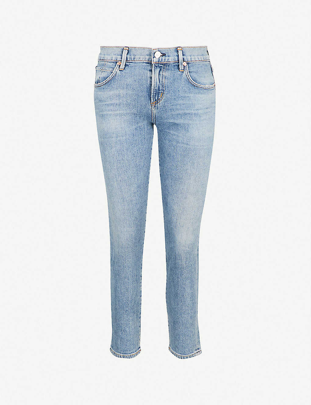 38496289b820 CITIZENS OF HUMANITY - Elsa cropped high-rise straight-leg jeans ...
