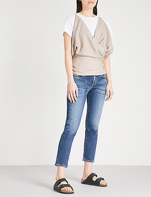 CITIZENS OF HUMANITY Elsa slim-fit mid-rise jeans