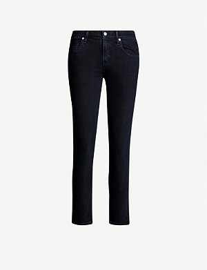 CITIZENS OF HUMANITY Elsa relaxed skinny mid-rise jeans