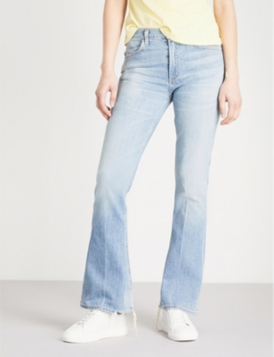 sale retailer limited quantity affordable price CITIZENS OF HUMANITY - Kaya kick flare mid-rise jeans ...