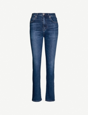 CITIZENS OF HUMANITY Harlow slim fit straight high-rise jeans