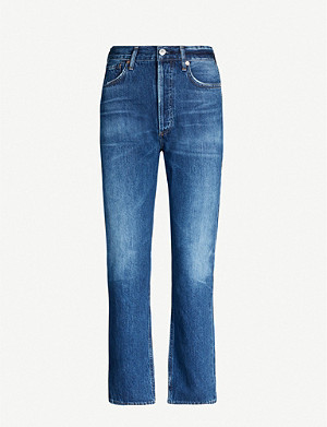 CITIZENS OF HUMANITY Charlotte straight high-rise jeans