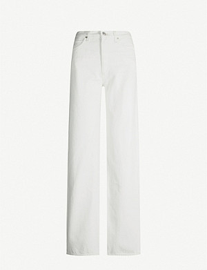 CITIZENS OF HUMANITY Annina straight-leg high-rise jeans