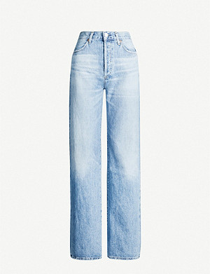 CITIZENS OF HUMANITY Annina wide-leg high-rise jeans