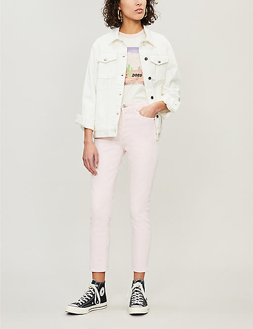 CITIZENS OF HUMANITY Olivia slim-fit high-rise jeans