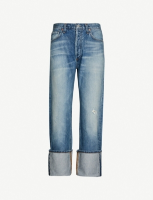 CITIZENS OF HUMANITY Reese mid-rise faded straight-leg jeans